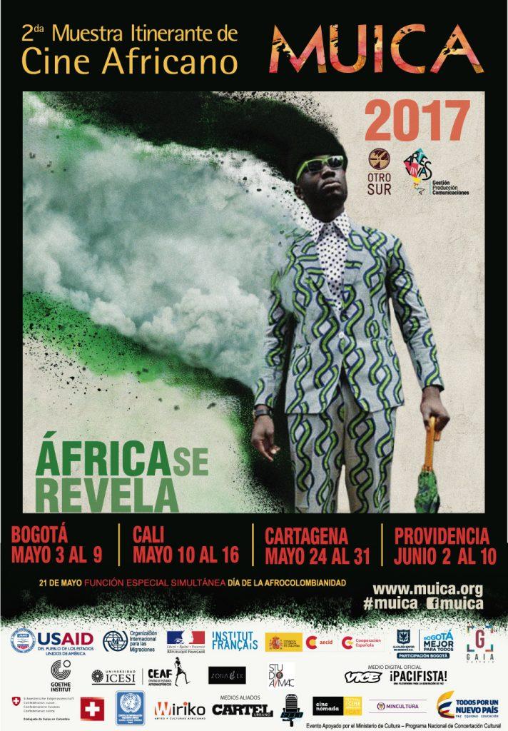 Agéndate en Cartagena para la Muestra Itinerante de Cine Africano 2017