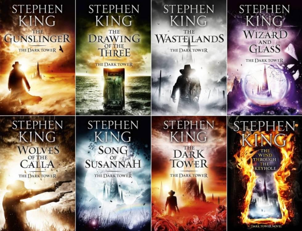 Los 8 libros de la saga de 'La Torre Oscura'