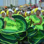 Más de 400 integrantes de Casas Distritales de Cultura hicieron parte de la muestra carnavalera.