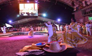 Piloneras lanzamiento 51 Festival Vallenato en Valledupar (1)