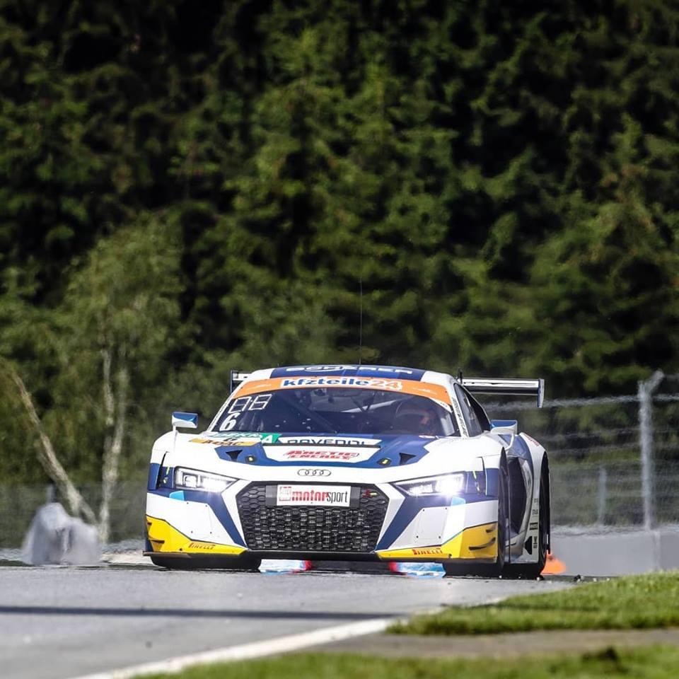 Oscar Tunjo busca un resultado positivo en Nürburgring