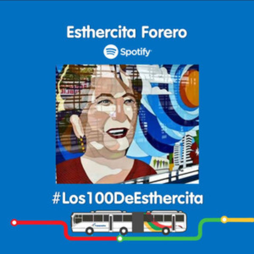 Transmetro se una a la conmemoración del centenario de Esthercita Forero