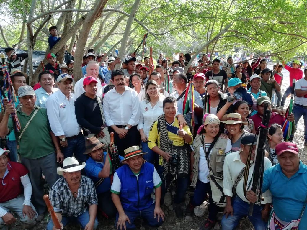 Tensión entre el gobierno y los Indígenas de la minga