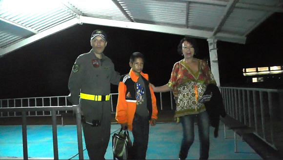 Niño indígena del Guainía recibirá tratamiento auditivo y de lenguaje con apoyo de la Fuerza Aérea Colombiana