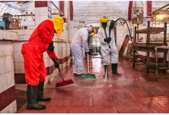 Exitosa Jornada de limpieza en el mercado público de Soledad