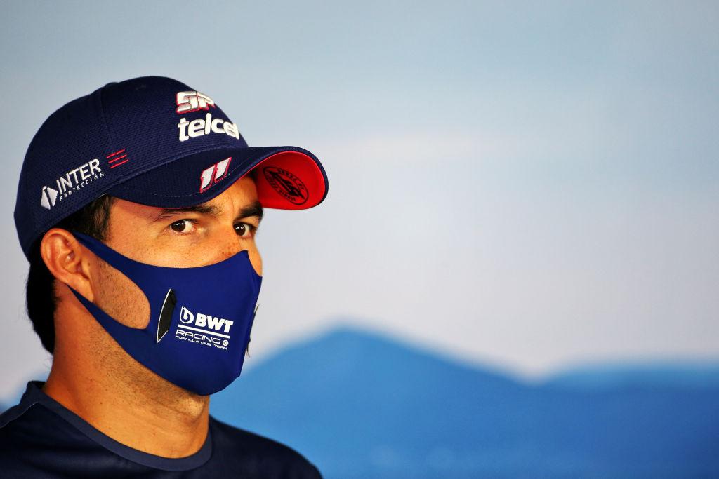 El piloto Sergio Pérez dio positivo por Covid-19