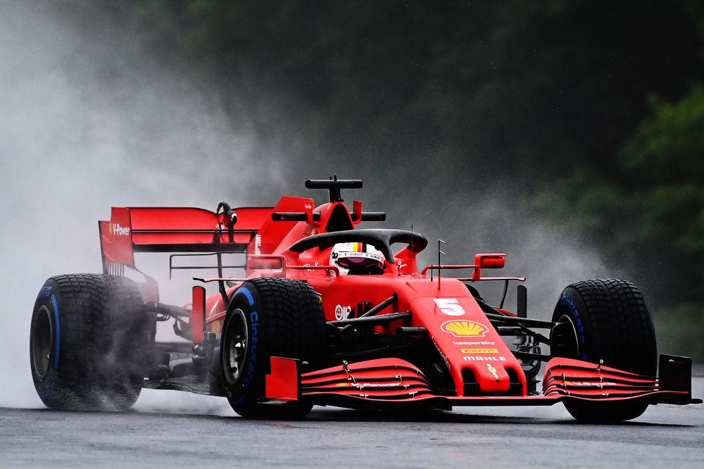 Vettel fue el más rápido en la práctica 2 para el Gran Premio de Hungría
