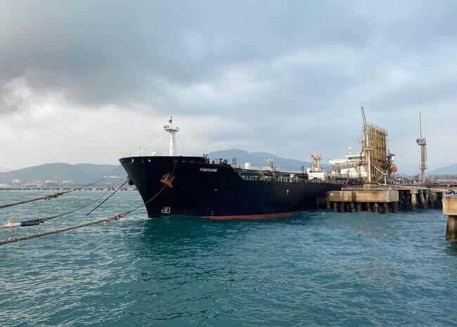 Estados Unidos incauta cargamento de gasolina iraní destinado a Venezuela