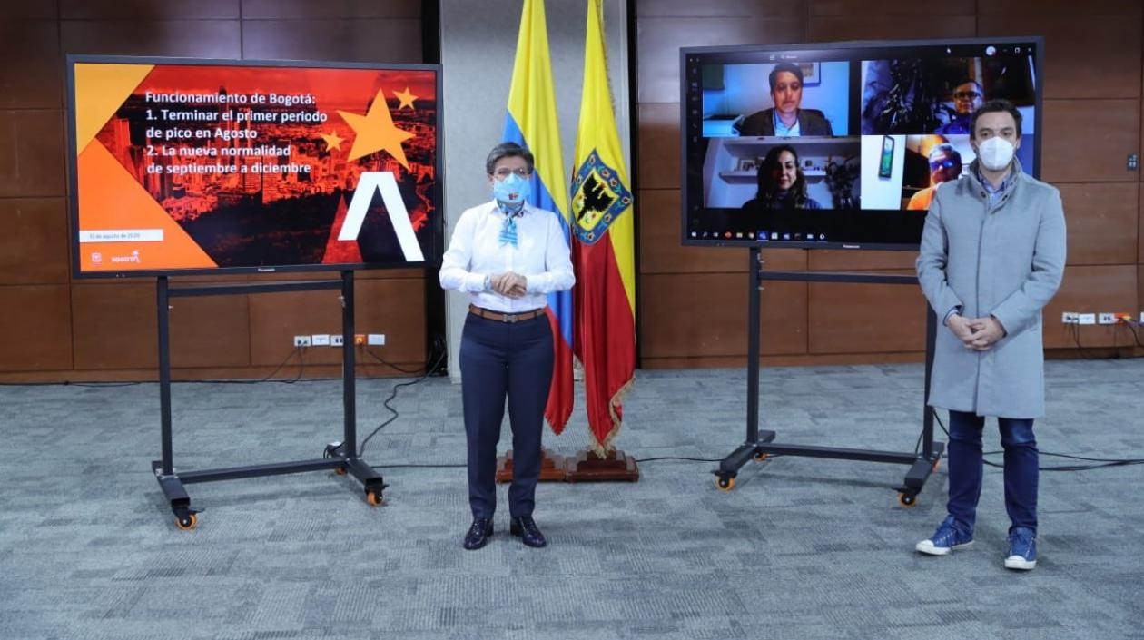 @Bogotá cerrará 7 localidades y hará pruebas piloto de vuelos y restaurantes