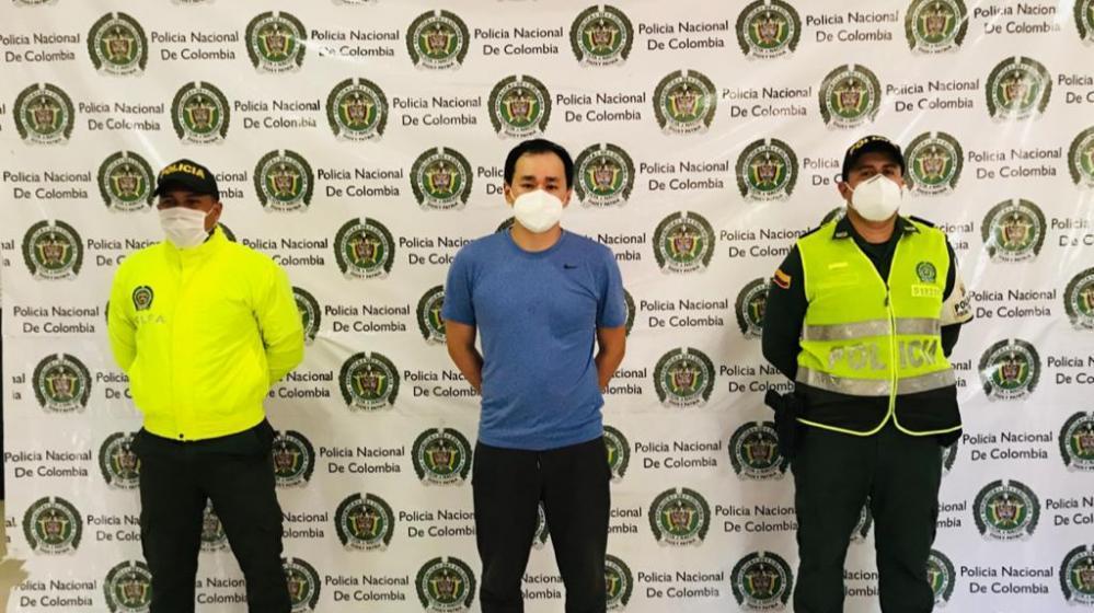 Capturado en Barranquilla ciudadano taiwanés considerado el 'Zar del contrabando de zapatos'