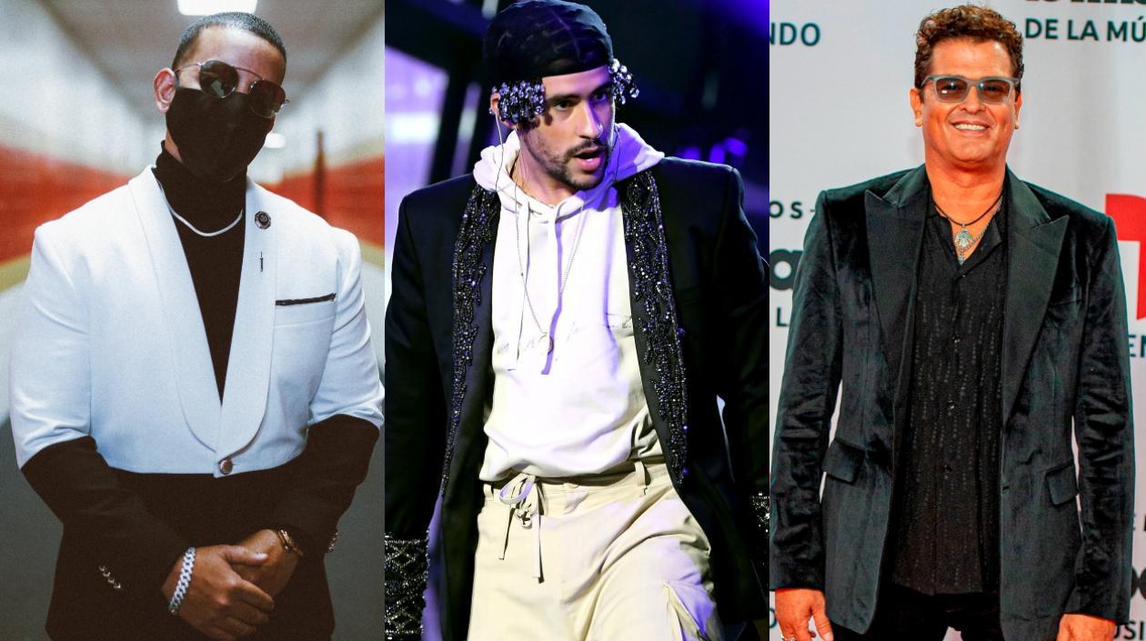 Daddy Yankee y Bad Bunny, los más premiados en Latin Billboard: Carlos Vives, al Salón de la Fama