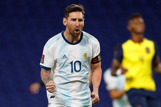 Con gol de Messi, Argentina venció a Ecuador por eliminatorias