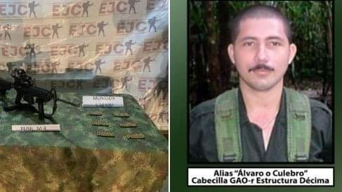 """Fallece alias """"Culebro"""", cabecilla de disidencias de las Farc"""