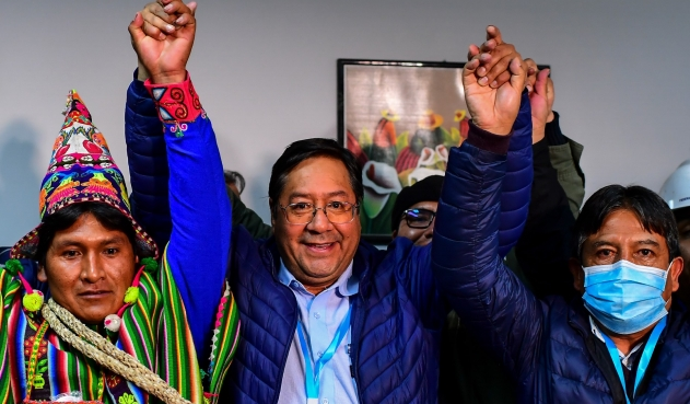 Luis Arce, oficialmente el presidente electo de Bolivia