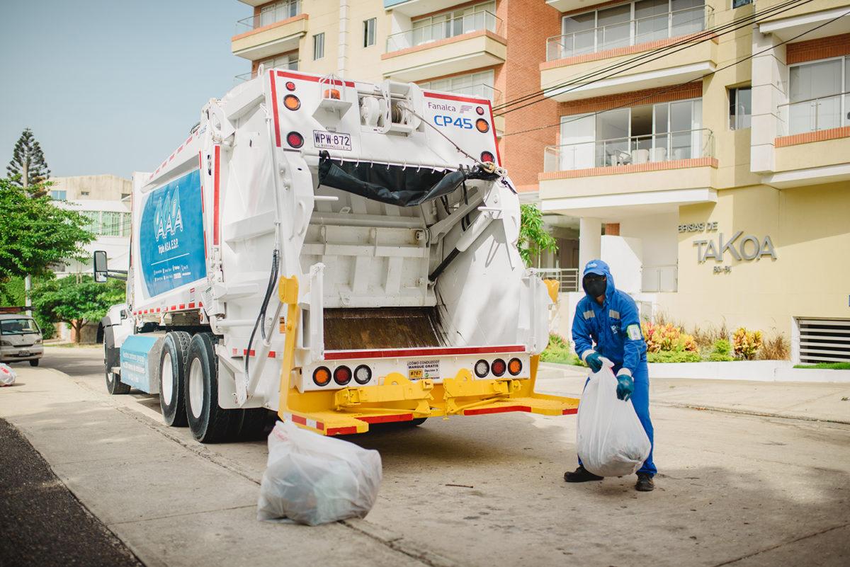 Triple A optimiza su operación de aseo en 15 sectores de la ciudad de Barranquilla