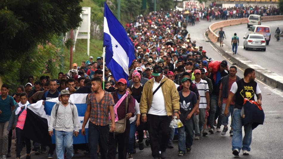 El presidente de Guatemala ordenó capturar a migrantes hondureños