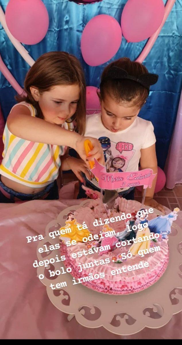 """La historia de las hermanitas brasileñas que se hizo viral por su """"mechoneada"""" en plena celebración del cumpleaños de una de ellas, termina con un final feliz."""
