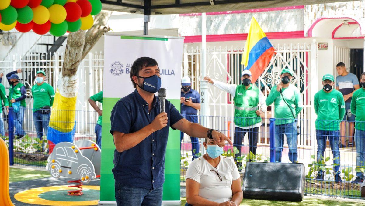 La alcaldía de Barranquilla sigue entregando más espacios pata la calidad de vida de los barranquilleros