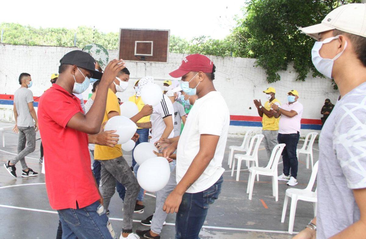 150 jóvenes de las localidades Metropolitana y Suroriente ponen fin a sus conflictos – @alcaldiabquilla