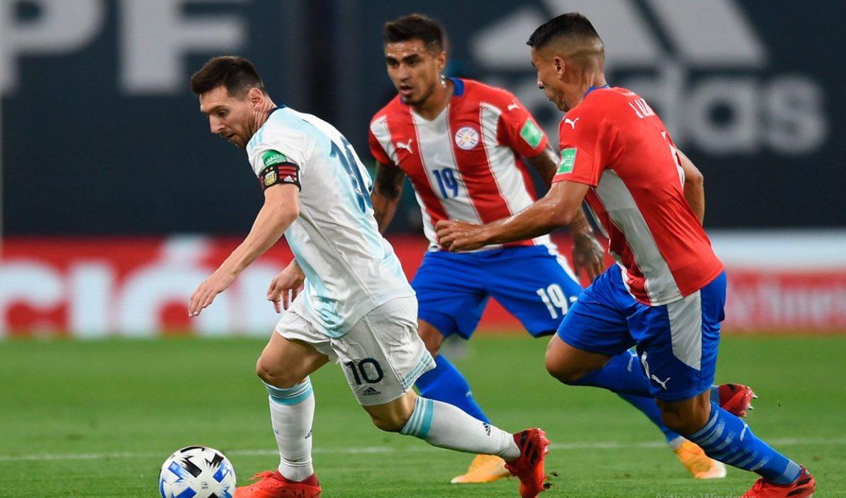 """Argentina y Paraguay terminaron """"en tablas"""" en La Bombonera"""