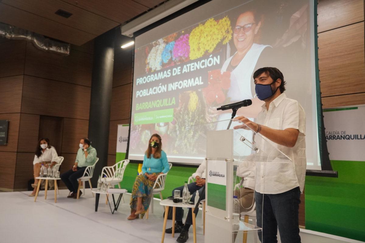 Barranquilla se alista para reactivación segura de trabajadores informales