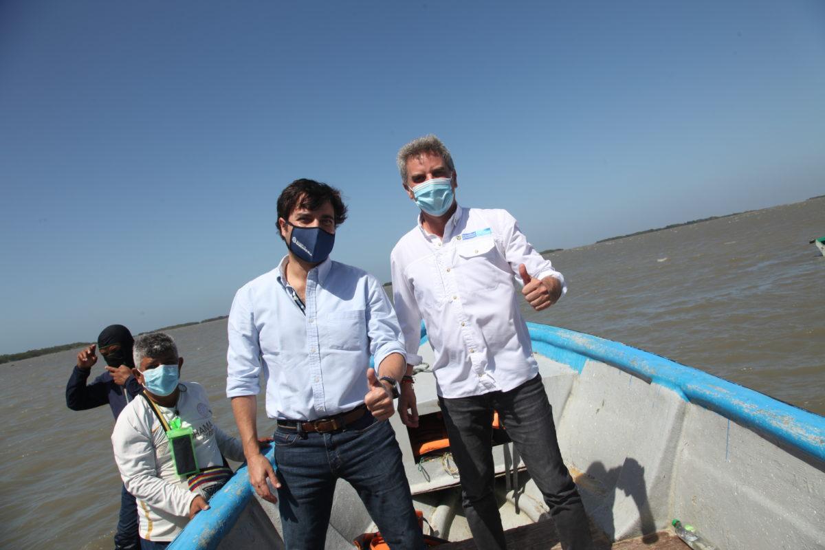 Minambiente reafirma importancia ambiental de la ciénaga de Mallorquín y el caño de la Auyama – @jaimepumarejo @alcaldiabquilla