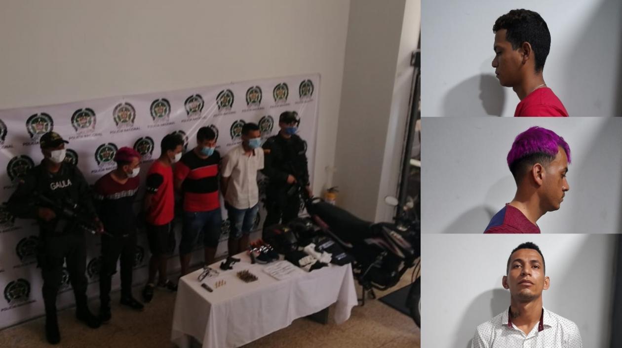 3 venezolanos y un colombiano, los capturados por el atentado en el centro de Barranquilla