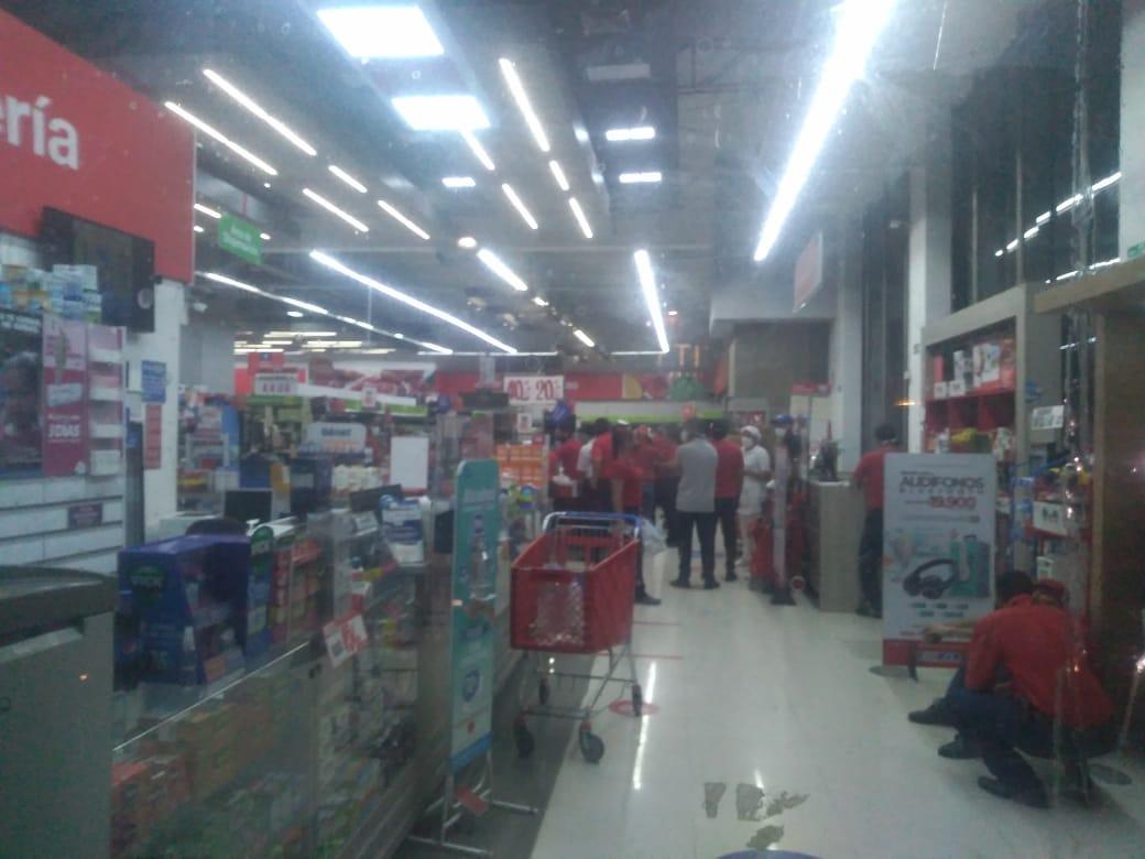 Fuerte tiroteo se registró en supermercado del norte de Barranquilla
