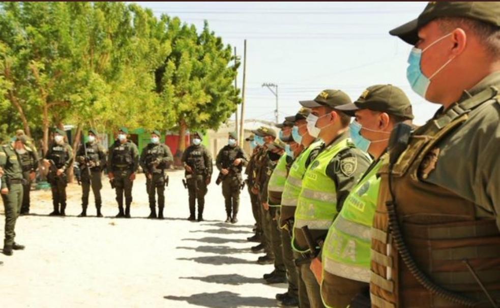 En Soledad, atlántico llegaron los 100 policías para garantizar la seguridad