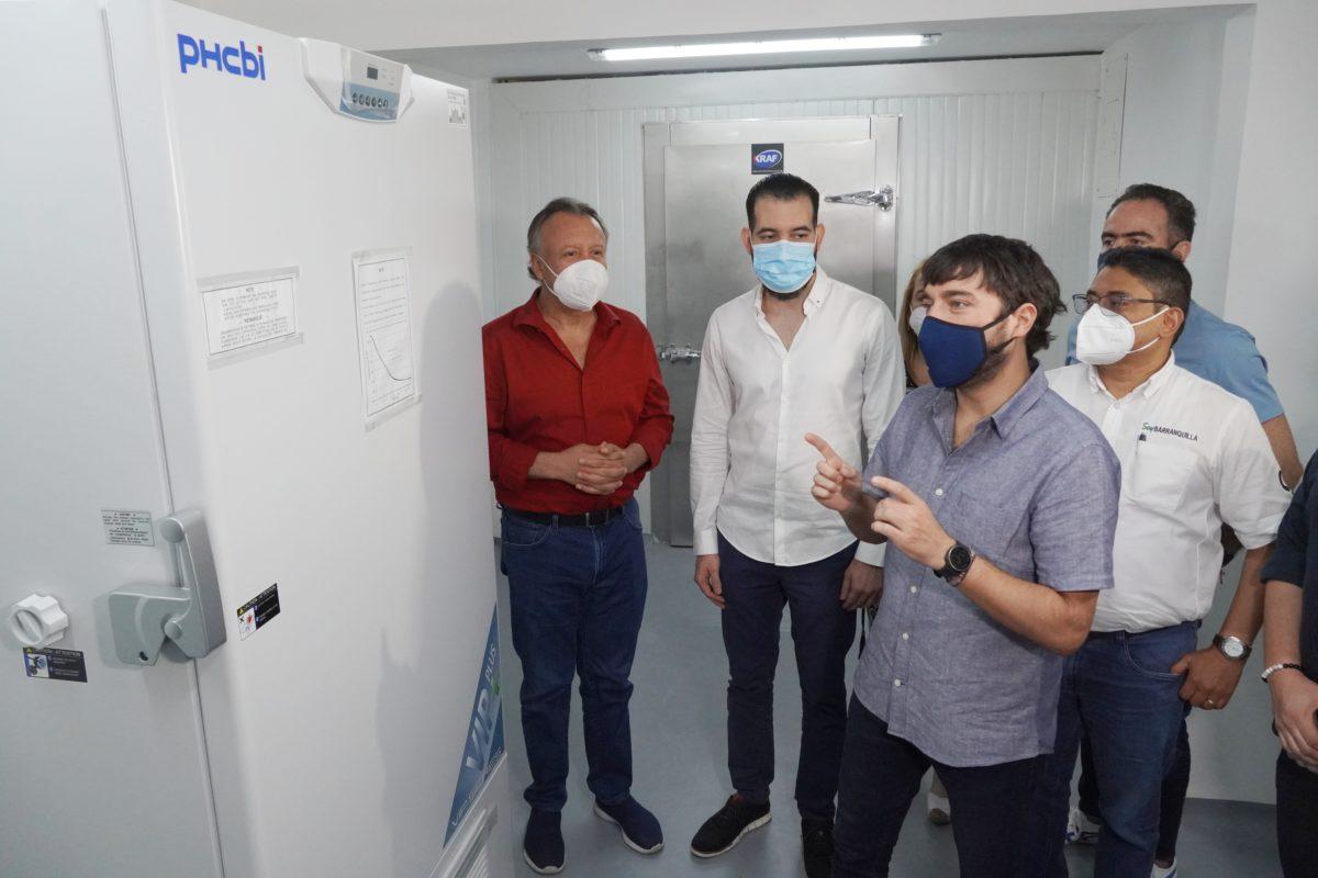 @alcaldiabquilla tiene listo ultracongelador para almacenar vacunas COVID-19