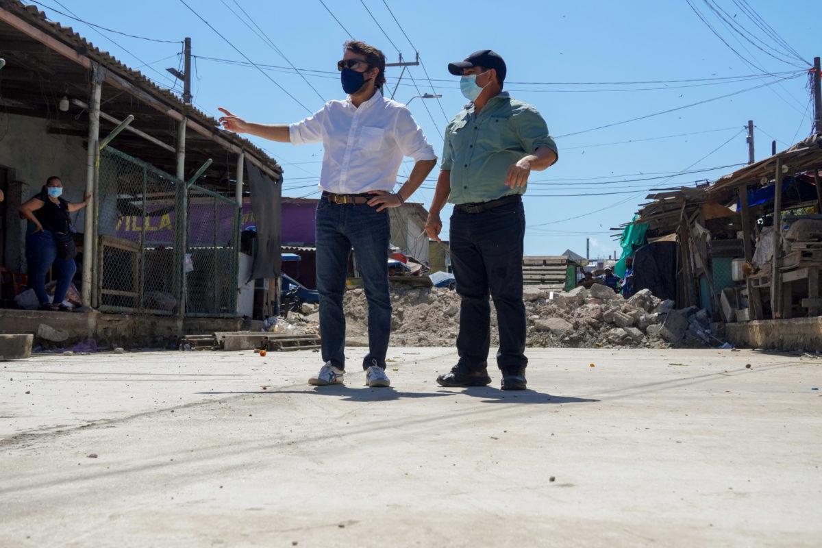 Alcalde @JaimePumarejo inspeccionó avance de recuperación vial en Barranquillita – @alcaldiabquilla