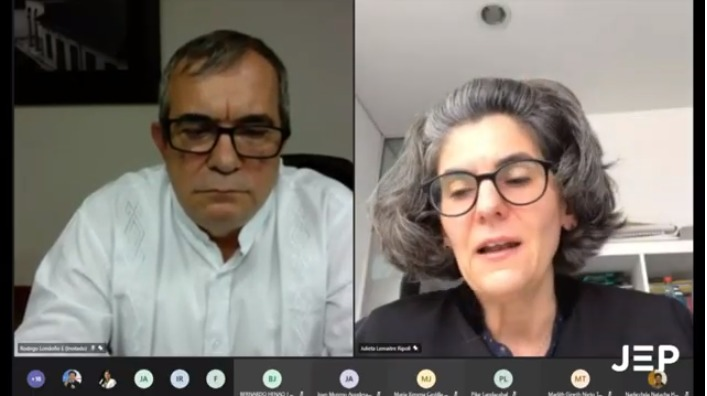 Rodrigo Londoño, dio declaraciones ante la JEP con lo referente al asesinato de Álvaro Gómez