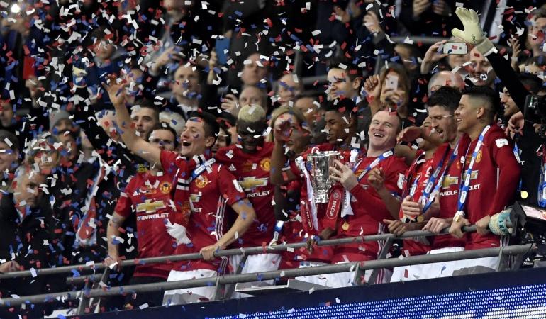 Manchester United se coronó campeon de la Copa de la Liga Inglesa