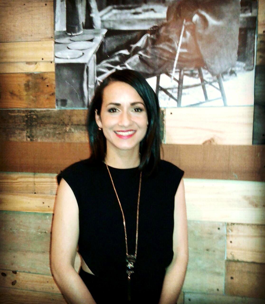 Diana Zuluaga, la empresaria internacional que viaja por el mundo, está de visita en Barranquilla