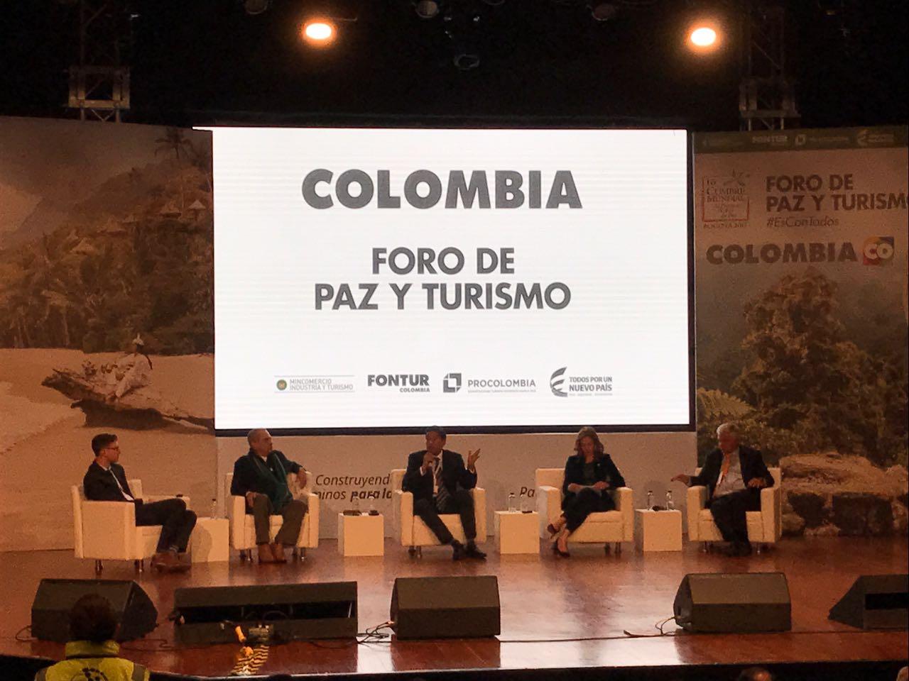 Expreso Brasilia y Unitransco, presentes en Foro de Paz y Turismo 2017