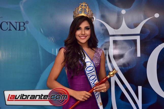 La Srta. Colombia® Laura González Ospina conducirá los Premios India Catalina 2018