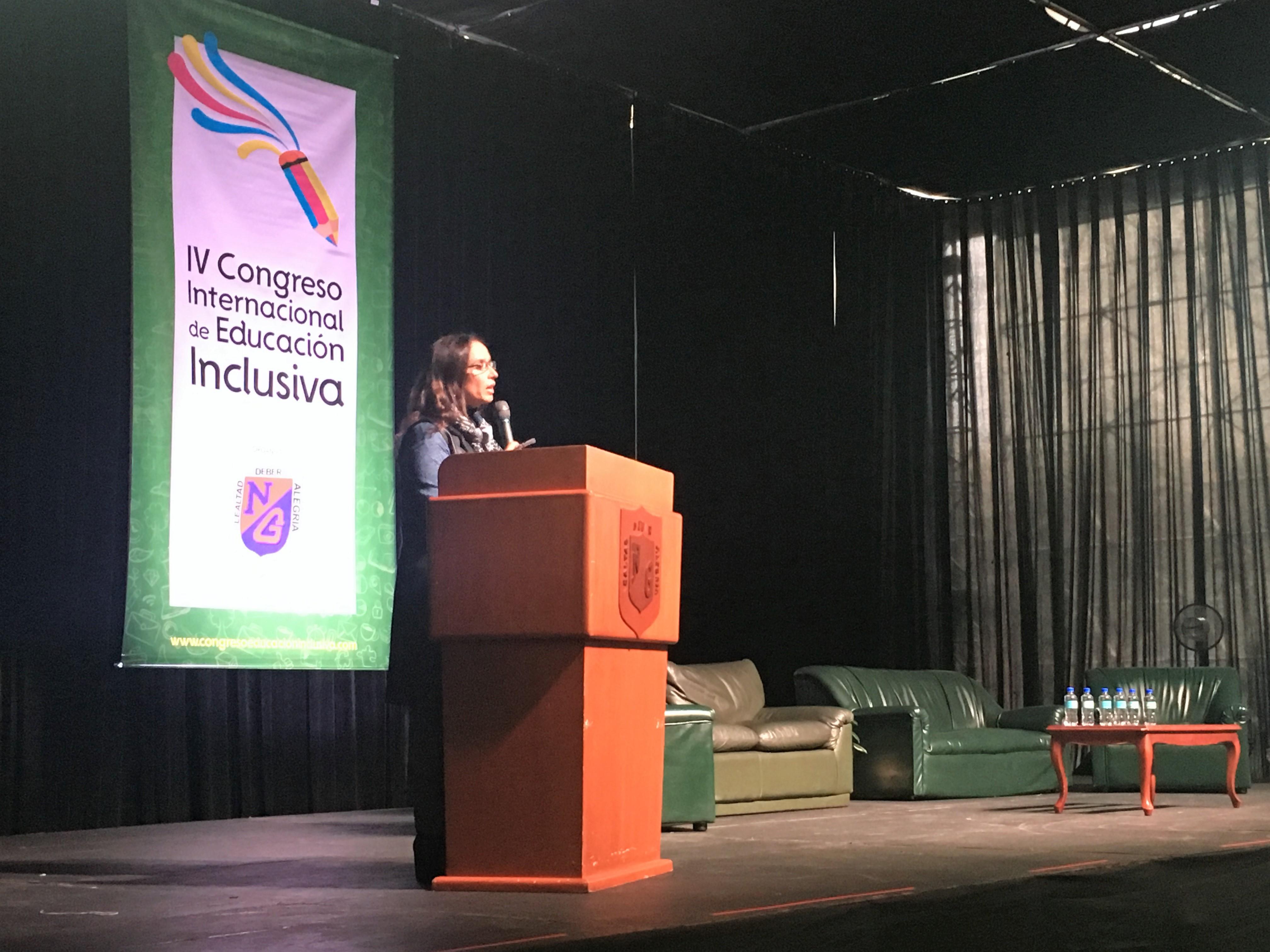 En Bogotá, comenzó el IV Congreso Internacional de Educación Inclusiva