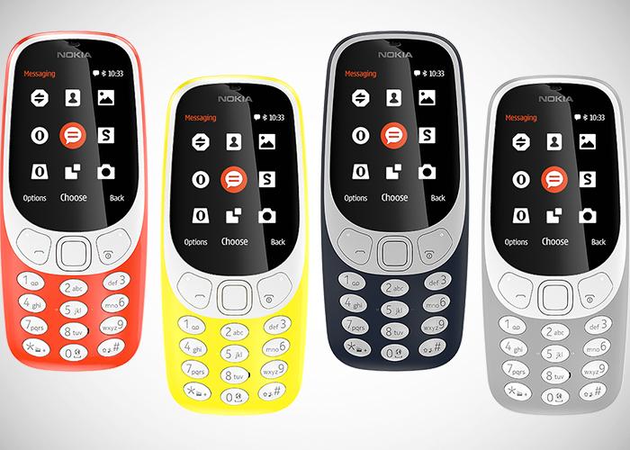 NOKIA 3310 está de vuelta 2017