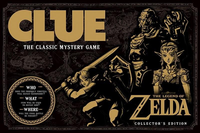 Tendremos The Legend of Zelda en la mesa de juego de Clueldo