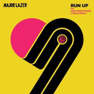 """Portada oficial de """"Run Up"""""""