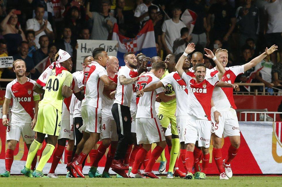 Mónaco Campeón de la Liga Francesa