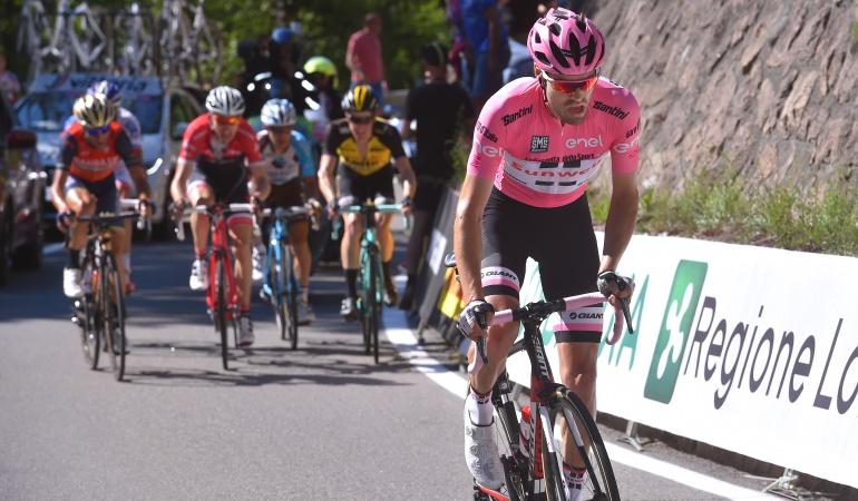 Nairo Quintana a una etapa de ganar el Giro