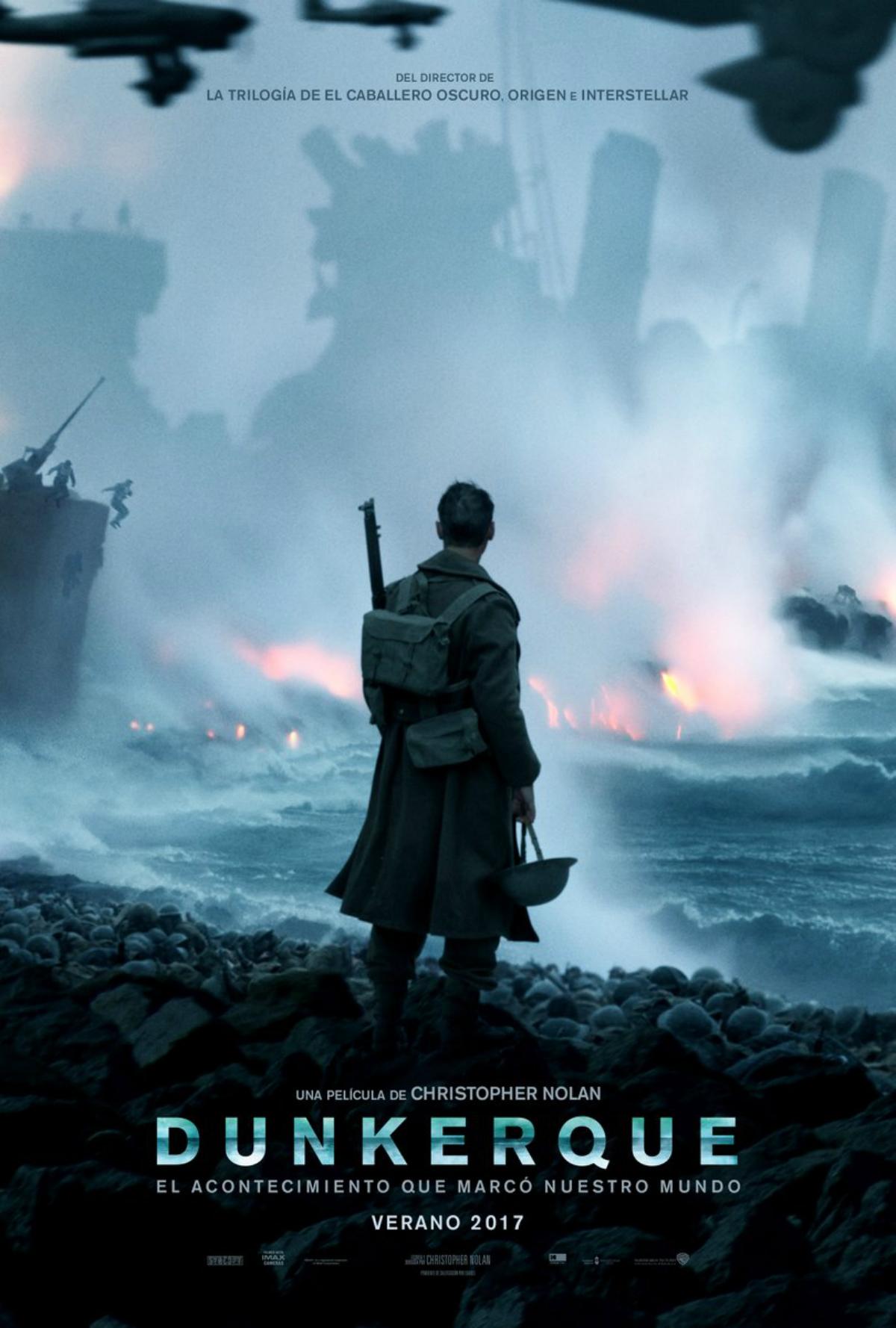 El nuevo trailer de Dunkerque, estreno 27 de Julio