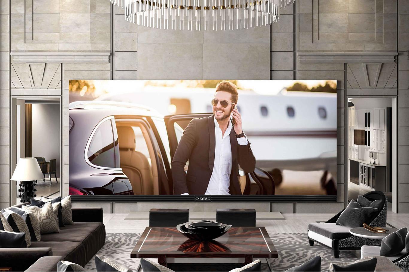 El televisor más grande tiene 262 pulgadas