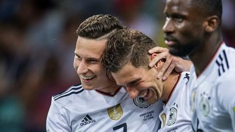 Alemania está en la final tras golear a México