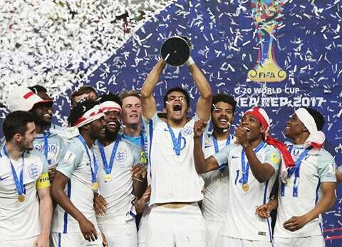 Inglaterra Campeón del Mundial Sub-20 de Fútbol