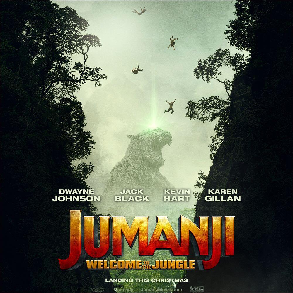 Sony Pictures estrenó el tráiler oficial de la secuela de 'Jumanji'