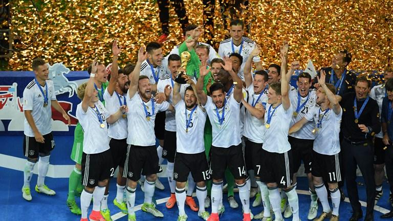 Alemania Campeón de la Copa Confederaciones 2017