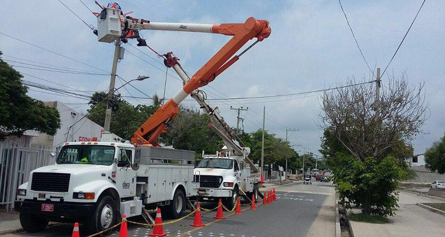 Mantenimientos programados por Electricaribe para este miércoles 12 de julio.