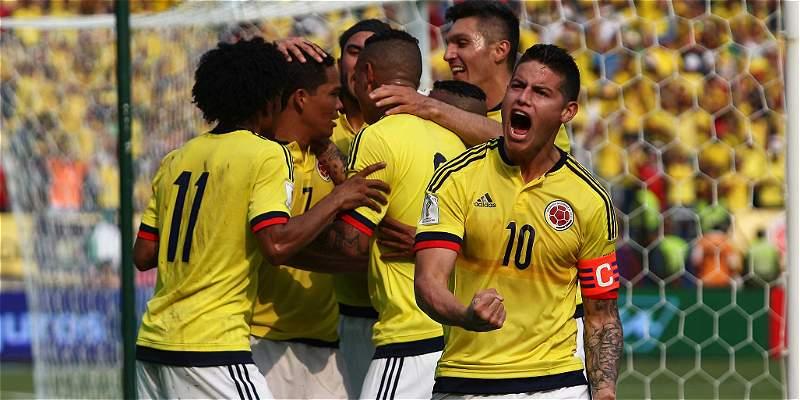 Colombia se ubica 8vo en el Ránking FIFA